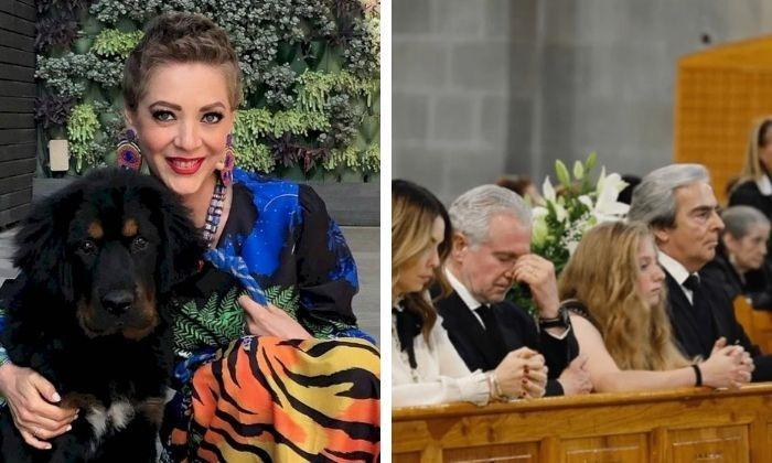 Circulan imágenes del desapego de Constanza con Santiago Creel en funeral de Edith González. Noticias en tiempo real