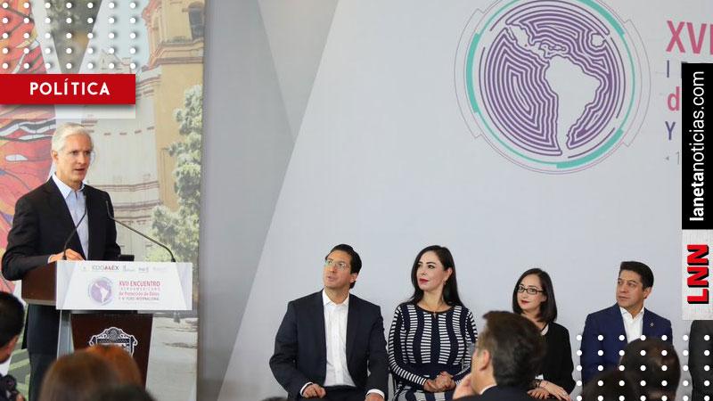 Alfredo del Mazo destaca avances en protección de datos personales. Noticias en tiempo real