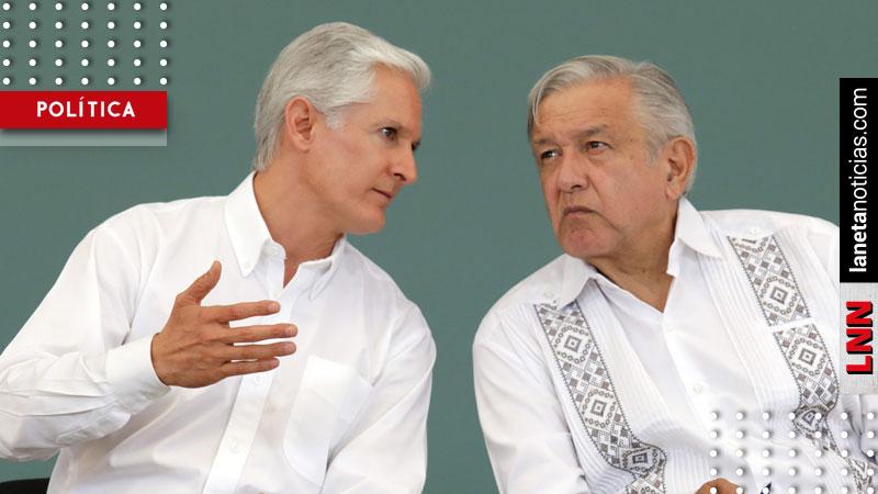 Alfredo del Mazo agradece a AMLO por reforzar la seguridad en Edomex. Noticias en tiempo real