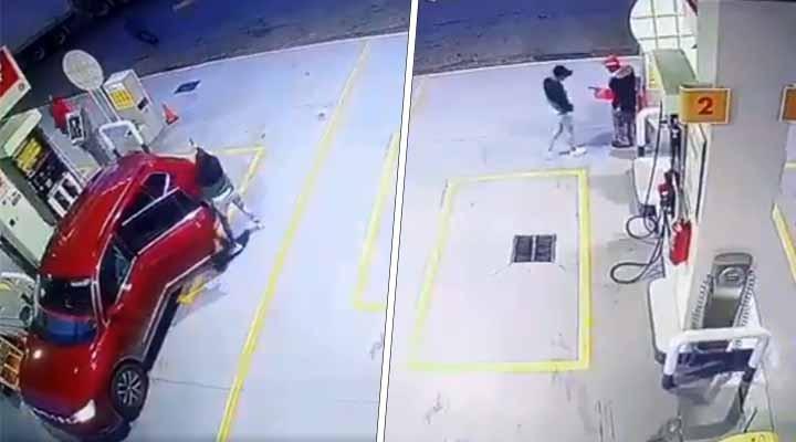 Ejecutan a despachador de gasolina durante asalto en la México-Puebla (VIDEO). Noticias en tiempo real