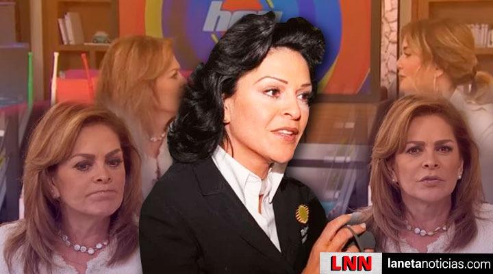 Mara Patricia Castañeda se disculpa con viudo de Edith González en Hoy. Noticias en tiempo real