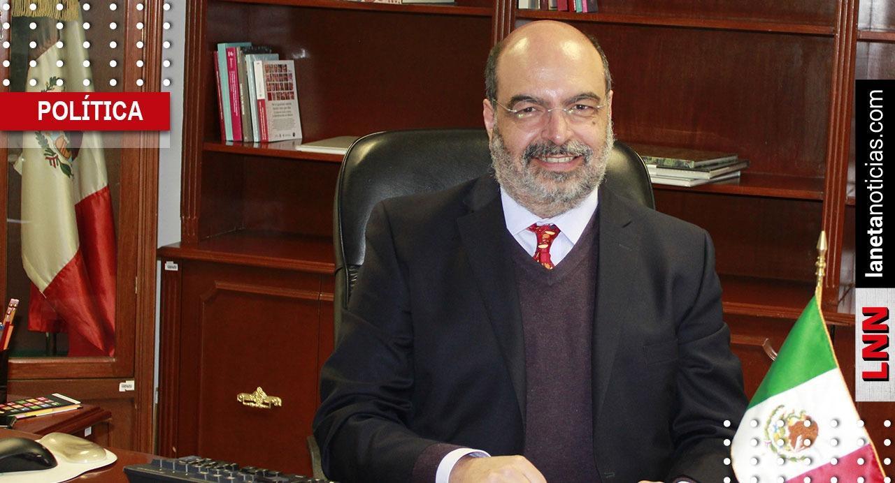 Fallece Carlos Echarri Cánovas, titular de la Conapo; compañeros lamentan deceso. Noticias en tiempo real