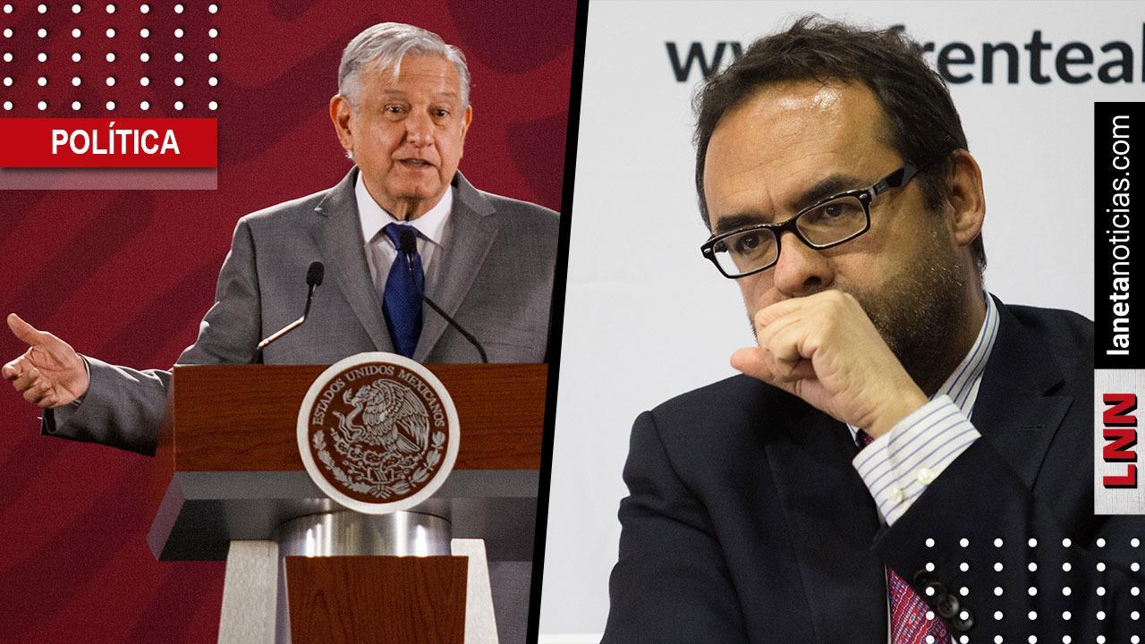 AMLO rechaza que renuncia de Hernández Licona esté relacionada con la austeridad. Noticias en tiempo real
