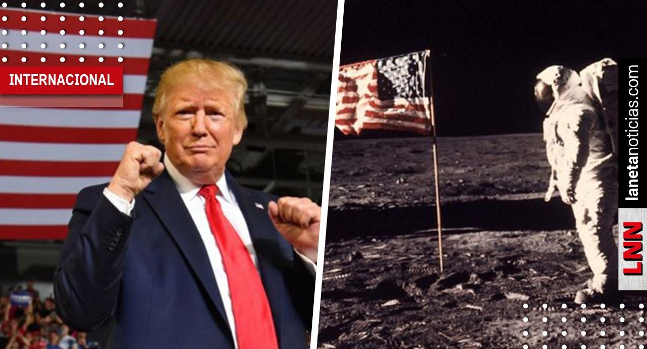 Donald Trump pide a la NASA mandar a la primera mujer a la Luna. Noticias en tiempo real