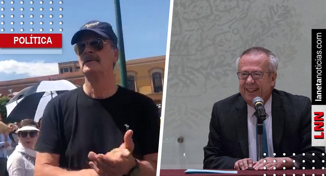 'A los mexicanos se los llevan entre las patas', dice Fox de renuncia de Urzúa. Noticias en tiempo real