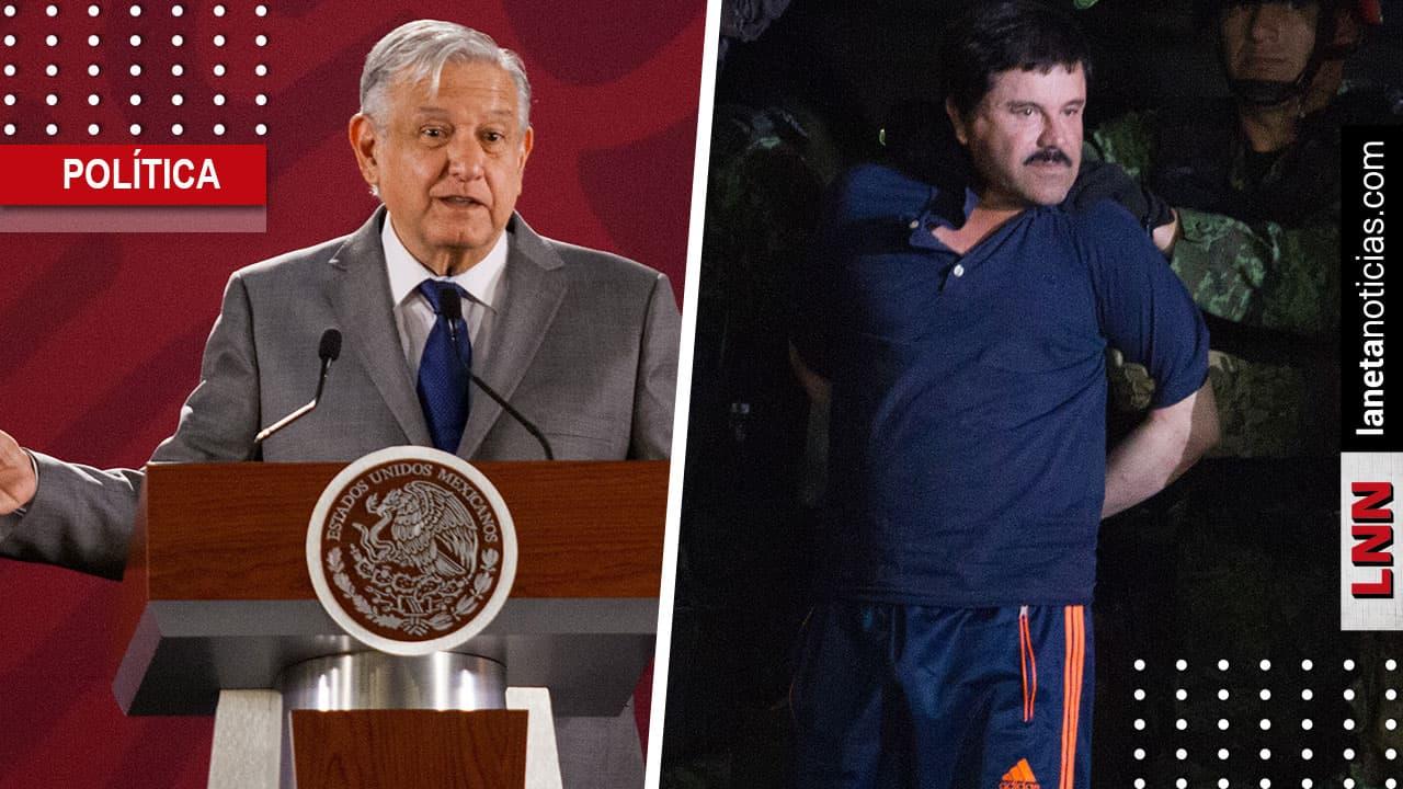 'Estoy de acuerdo con el abogado', dice AMLO sobre recursos de El Chapo. Noticias en tiempo real