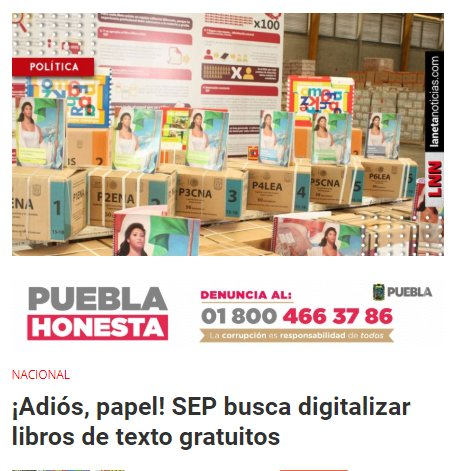 AMLO libros de texto SEP