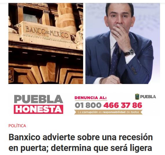 AMLO Peso Recesión