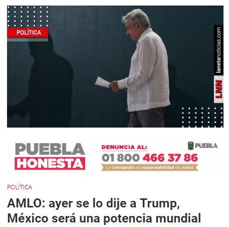 AMLO Potencia Económica México