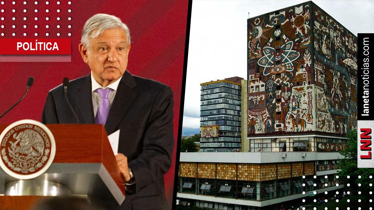 AMLO descarta que UNAM se quedará sin internet: se están revisando los contratos. Noticias en tiempo real