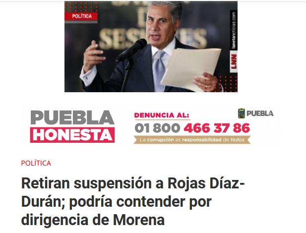 Rojas Díaz-Durán Propuestas Morena