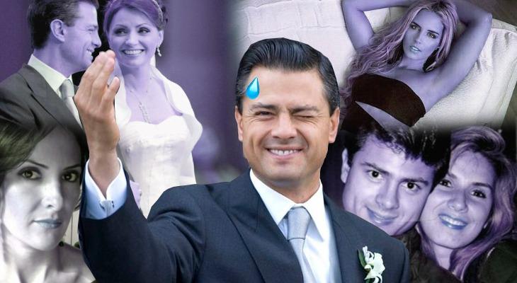 Enrique Peña Nieto y las mujeres que han marcado su vida amorosa. Noticias en tiempo real