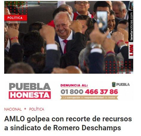 Peña Nieto Romero Deschamps 300 millones de pesos