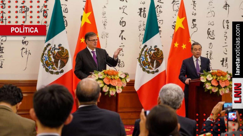 Marcelo Ebrard Acuerdo China