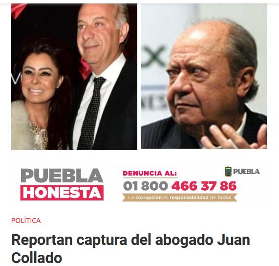 AMLO Juan Collado Detención