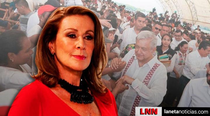 Laura Zapata AMLO Centroamérica