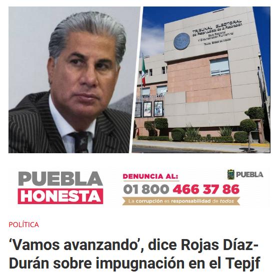 Alejandro Rojas Díaz-Durán afiliados Morena