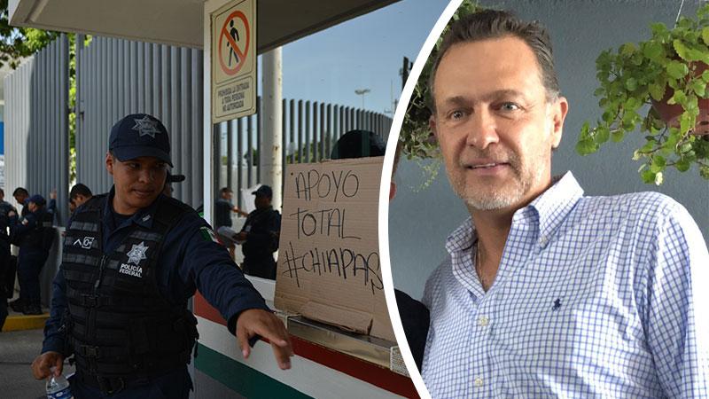 Mauricio Kuri culpa al gobierno de AMLO por protestas de Policía Federal. Noticias en tiempo real