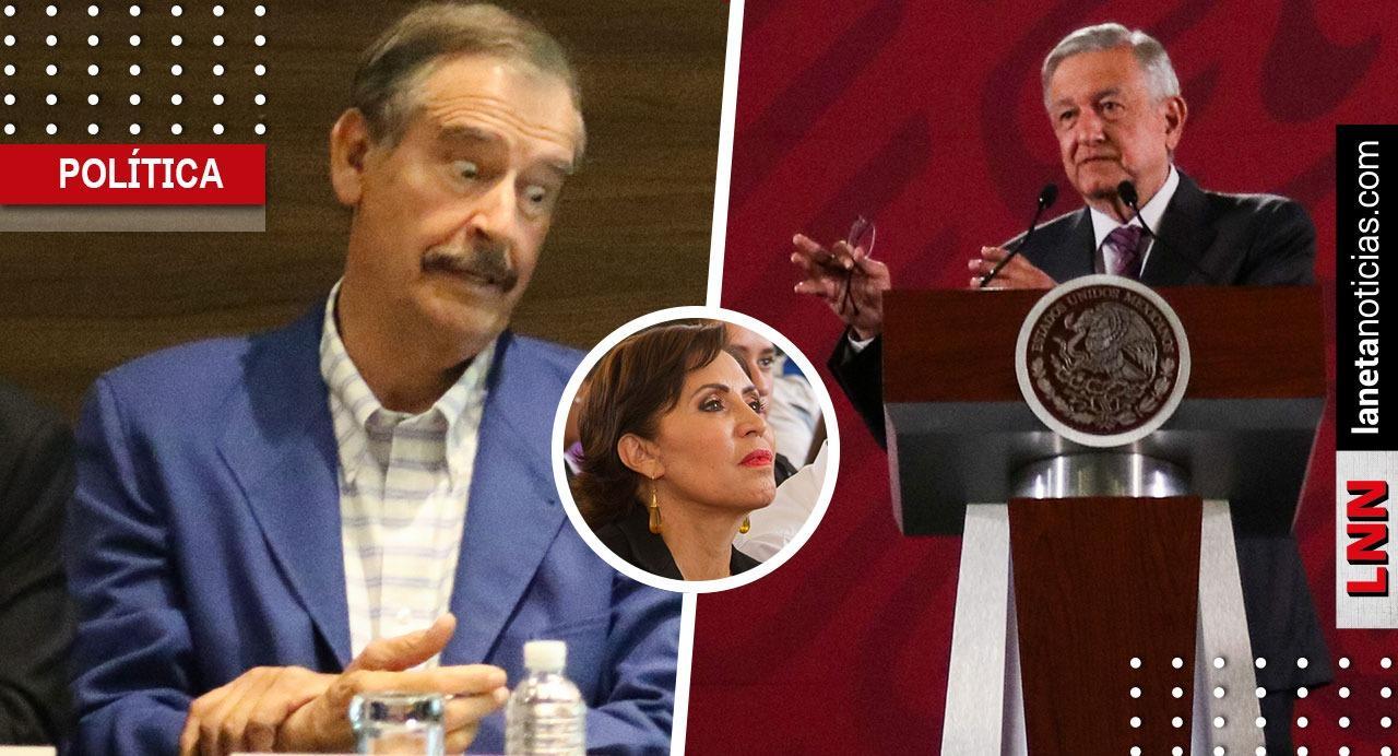 Fox acusa a AMLO de hacer 'marranadas' con la justicia por caso Rosario Robles. Noticias en tiempo real