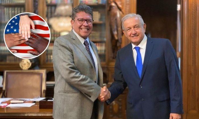Monreal advierte que Senado no avalará a México como tercer país seguro. Noticias en tiempo real