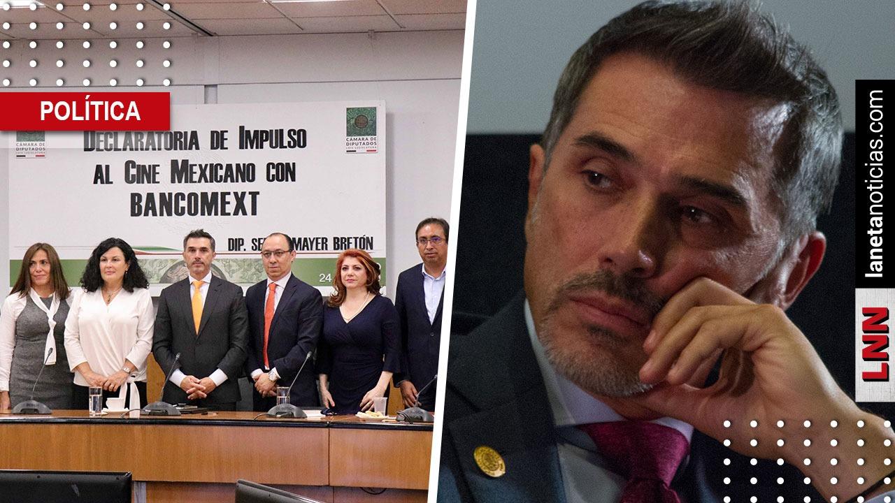 Sergio Mayer exige a diputados mostrar pruebas de supuestos 'moches' para cultura. Noticias en tiempo real