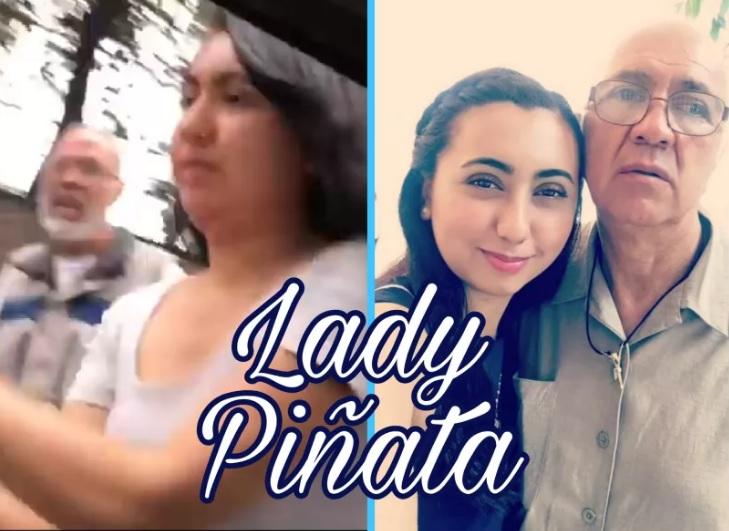 #LadyPiñata