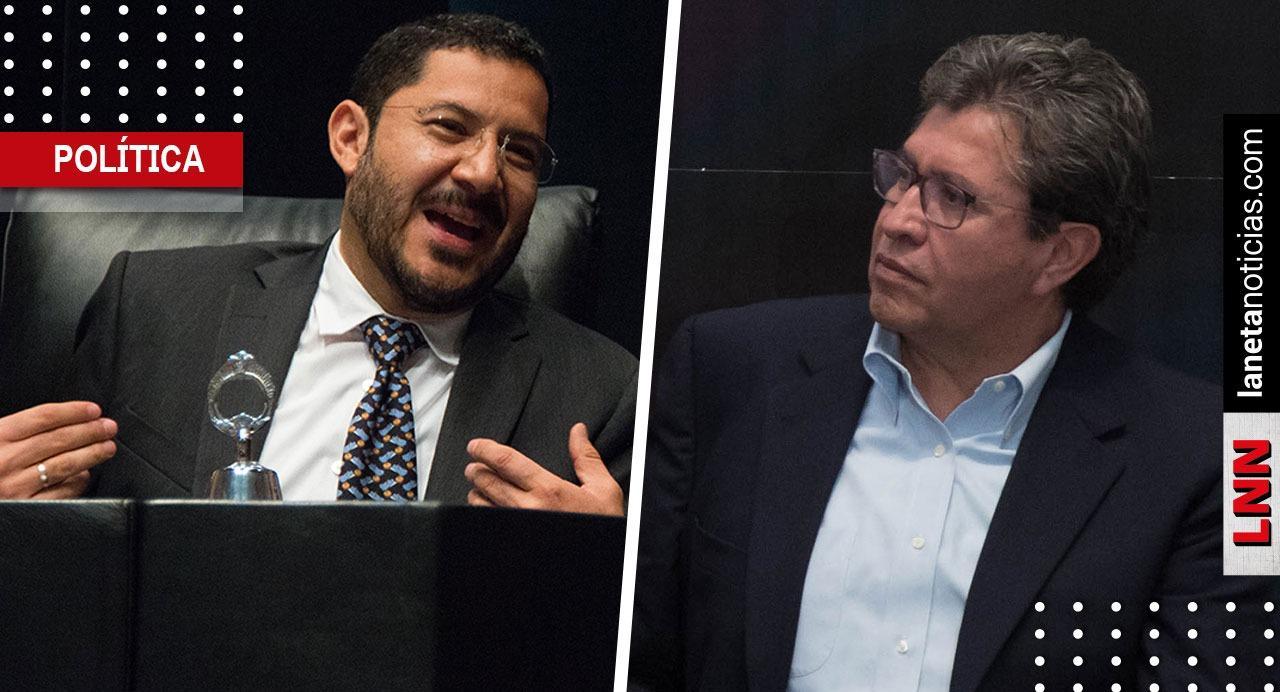 Martí Batres se lanza contra Ricardo Monreal por perder presidencia del Senado. Noticias en tiempo real