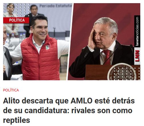 AMLO Alito PRI