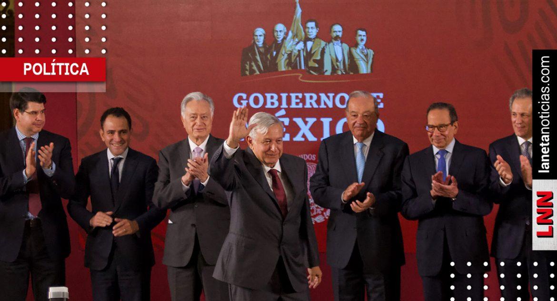 AMLO y empresarios impulsarán Plan Nacional de Infraestructura