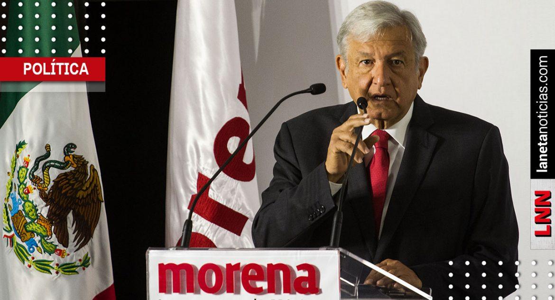 AMLO renunciaría a Morena si el partido 'se echa a perder'