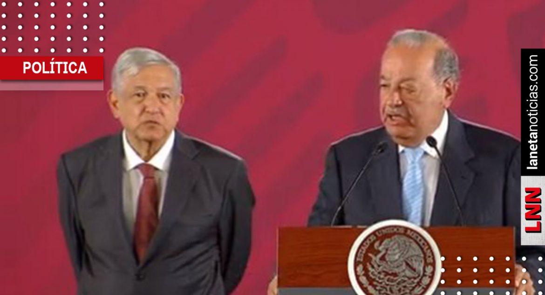 Carlos Slim celebra acuerdo sobre gasoductos; reitera respaldo a gobierno de AMLO
