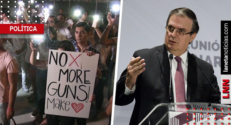 Marcelo Ebrard suspende orden de extradición contra autor de tiroteo en Texas