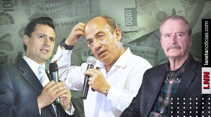 2 mil mdp: la deuda que dejaron Fox, Peña y Calderón al país en 15 años