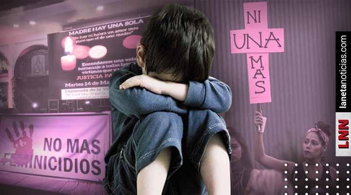 Suman 4 mil 245 niños huérfanos en México a causa de los feminicidios: Inmujeres