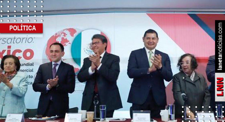 Hacienda delinea con Monreal y Armenta estrategias para impulsar finanzas sanas