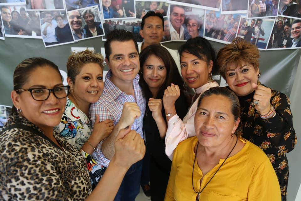 Marcelo García, diputado independiente, inaugura casa de gestión en Puebla