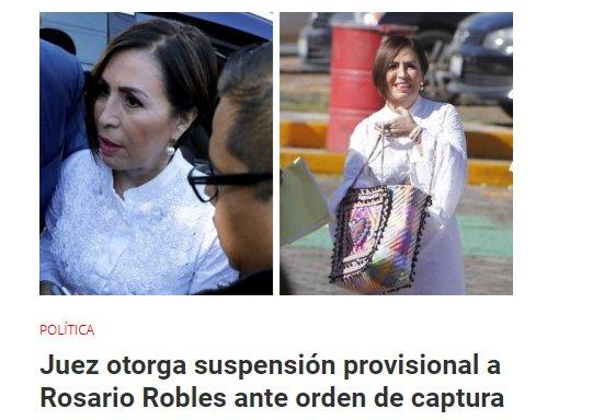 Señalan a Peña Nieto por ignorar los desvíos millonarios de Rosario Robles