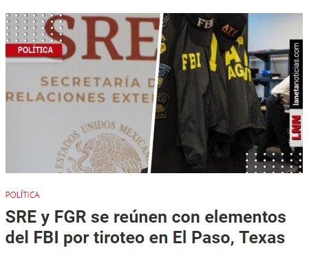 'Fue un acto terrorista contra mexicanos', dice Ebrard por tiroteo en El Paso