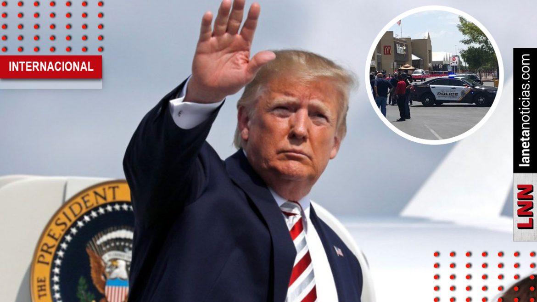 Donald Trump tiroteo EU