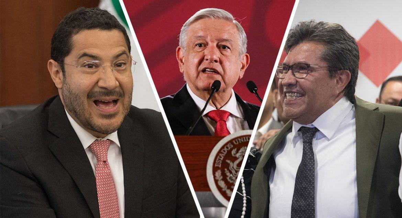 AMLO por pleito entre Monreal y Batres: 'no hay que buscar el poder por el poder'
