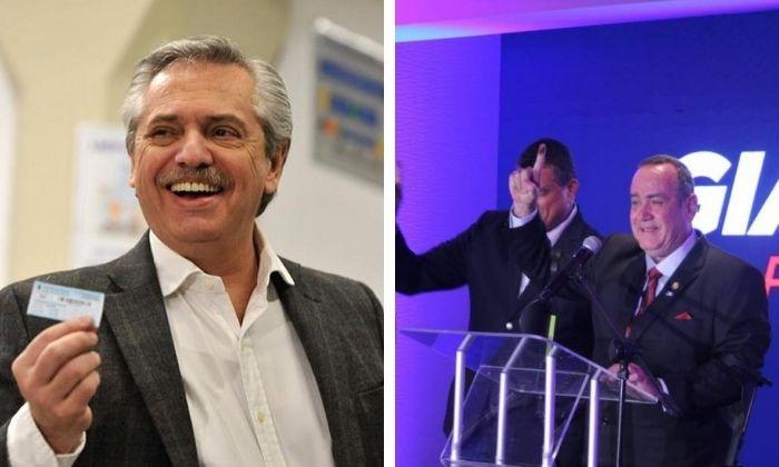 Eligen a Giammattei presidente de Guatemala; Fernández arriba en Argentina. Noticias en tiempo real