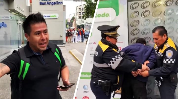 Los buenos somos más: ciudadanos someten a acosador de mujer en CDMX