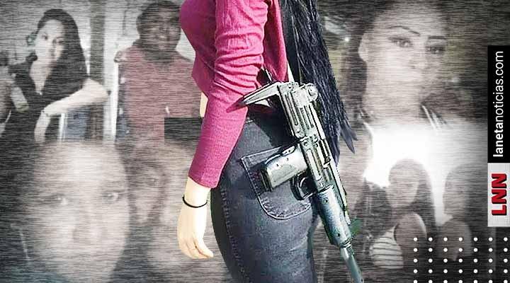 Los Viagras difunden fotos y lanzan amenaza contra sicarias del CJNG