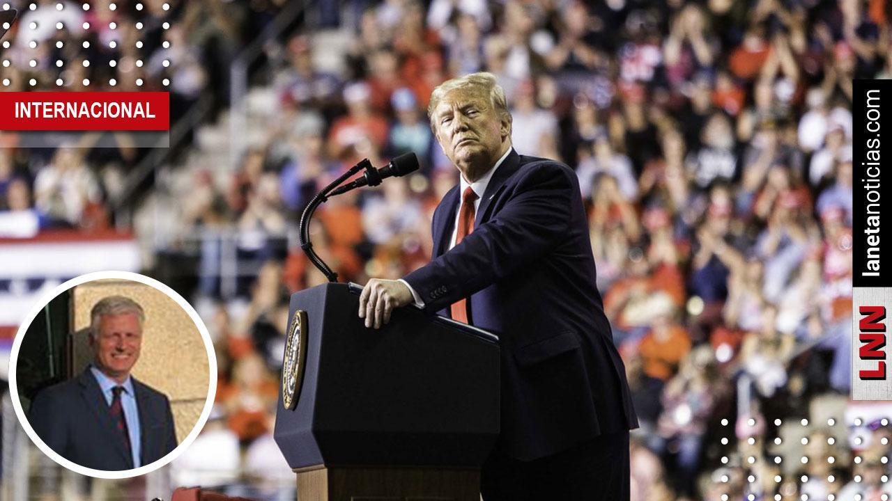 Donald Trump nombra a Robert O'Brien como asesor de Seguridad Nacional. Noticias en tiempo real