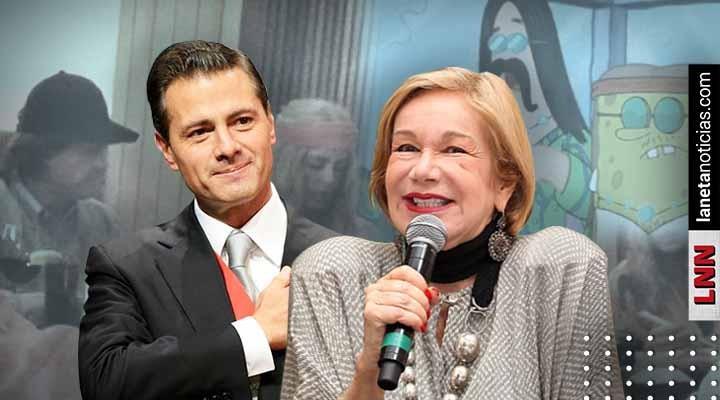Guadalupe Loaeza defiende a Peña de burlas: 'es un hombre romántico y audaz'. Noticias en tiempo real