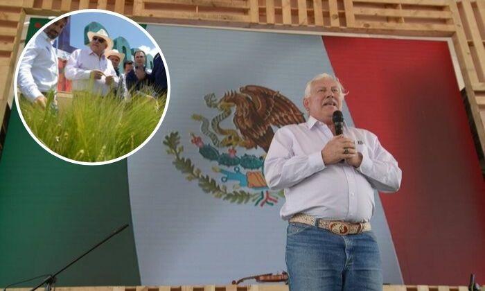 Víctor Villalobos Arámbula destaca valor de productores de cebada en agroindustria. Noticias en tiempo real