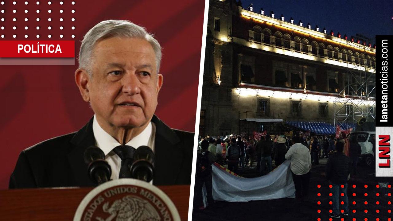 'Fueron groseros', dice AMLO a comerciantes que bloquearon acceso a Palacio. Noticias en tiempo real