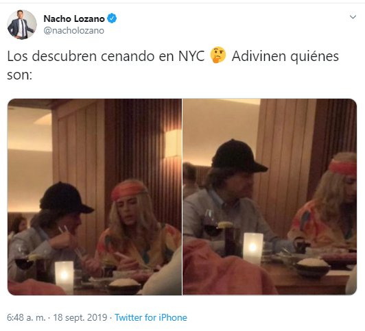 Peña Nieto hace el ridículo en Nueva York usando peluca en cita con Tania Ruiz
