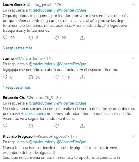 Clouthier y Fox protagonizan pelea en Twitter por Informe de Gobierno de AMLO