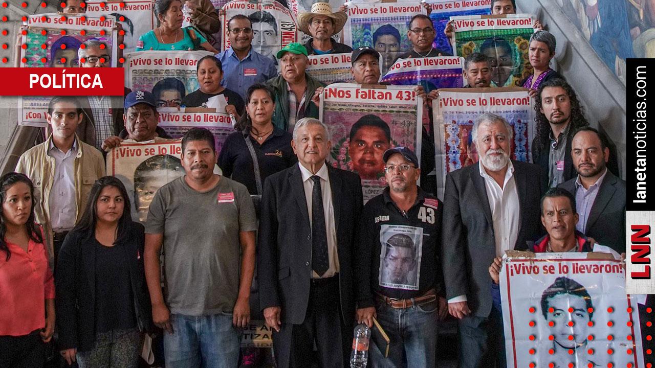 AMLO se reúne con padres de los 43; reitera compromiso en caso Ayotzinapa. Noticias en tiempo real